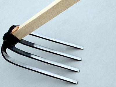 四つ又鍬 柄付 柄1500mm