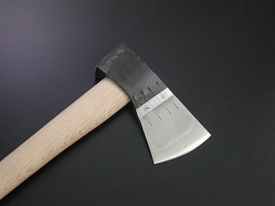 【予約販売】木馬斧 1000g【根切り斧/生木用】