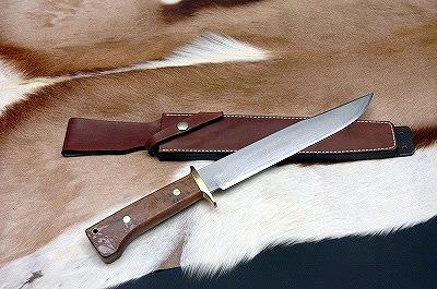 【予約商品】土佐火造狩猟刀飛鳥両刃242DM15青2