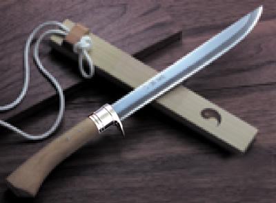 豊国作 三種の神器 護身刀(ステンツバ輪)