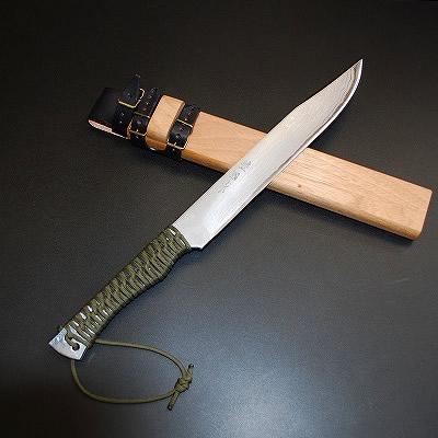 【予約販売】土佐三日月狩猟拵刀「響」角鞘