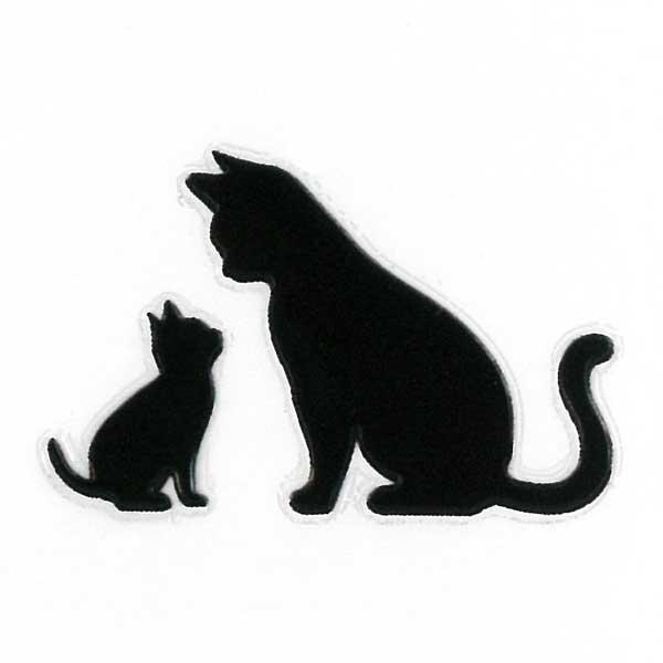 可愛らしい猫がワンポイントの蒔絵シールになって登場 スマホカバーや小物に貼れるシールです 猫 蒔絵シール Love cat キャットE 黒 30mm ねこ ネコ 黒猫 シール かわいい カバー デコ ステッカー iQOS 爆買い新作 動物 ケータイ ワンポイント 最新 アイコス スマホ iPhone シルエット