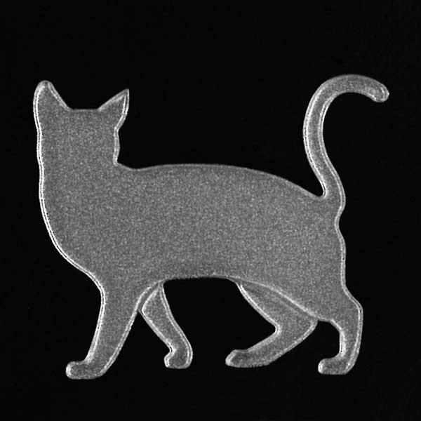 可愛らしい猫がワンポイントの蒔絵シールになって登場 スマホカバーや小物に貼れるシールです 猫 蒔絵シール Love cat SALE キャットC 銀 30mm ねこ ネコ シール 限定タイムセール ワンポイント かわいい カバー アイコス iQOS ケータイ デコ iPhone シルエット スマホ 動物