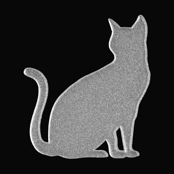 可愛らしい猫がワンポイントの蒔絵シールになって登場 スマホカバーや小物に貼れるシールです 猫 蒔絵シール Love cat キャットD 銀 30mm ねこ ネコ シール iPhone 好評受付中 デコ ワンポイント ケータイ シルエット かわいい 動物 人気激安 ステッカー カバー iQOS スマホ アイコス