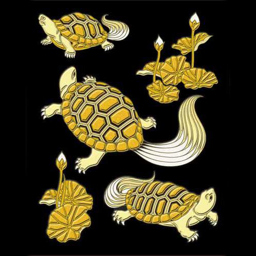 縁起の良い亀の蒔絵シールです! 蒔絵シール【彩蒔絵 亀】ケータイ スマホ iPhone デコ ステッカー シール カメ かめ iQOS アイコス