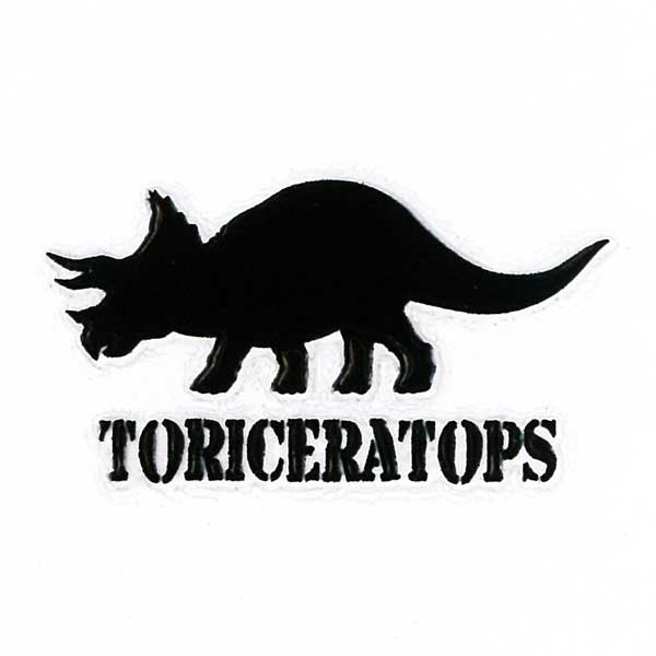 恐竜の蒔絵シール ブラックカラー が登場 スマートフォンカバーや携帯によく映えます 蒔絵シール トリケラトプス 黒 ステッカー 新着 シール スマホ 商品追加値下げ在庫復活 恐竜 iQOS 携帯 アイコス
