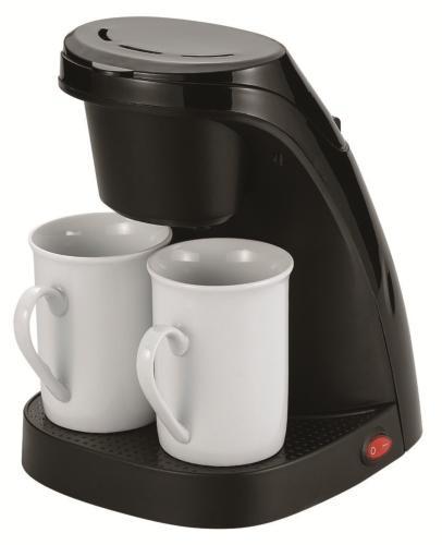 コーヒーメーカー 価格 交渉 送料無料 ホットコーヒー 調理器具キッチン用品 アイテム勢ぞろい 朝食 ソレイユ ツイン ブラック