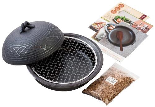 特価品コーナー☆ 燻製料理 蒸し料理 新作 陶板料理 燻製も出来る陶板鍋 萬古焼