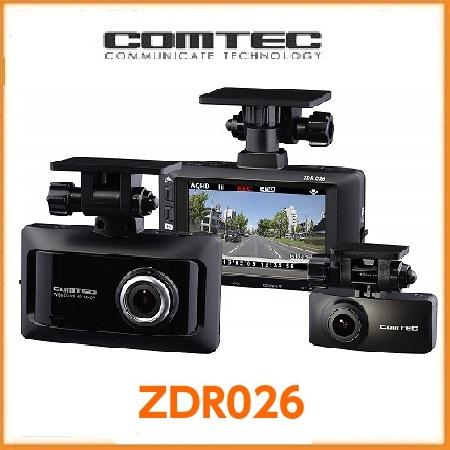 コムテック ドライブレコーダーZDR-026(在庫有り)