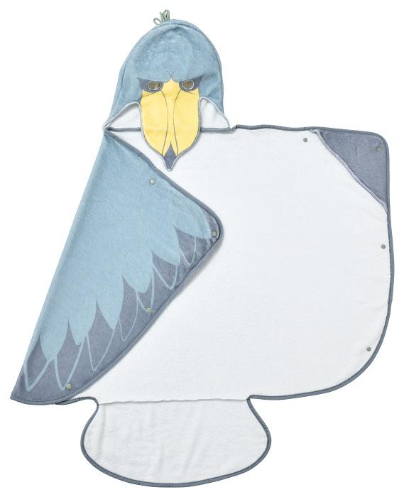 タオル バスタオル 2020A W新作送料無料 ハシピロコウ 楽しく拭けるバスタオル 正規逆輸入品