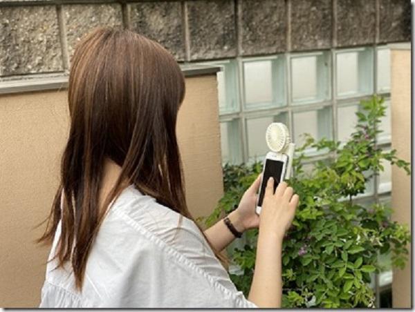 扇風機 USBファン デポー ミニ扇風機 タブレットクリップファン 通信販売 USBスマホ 暑さ対策