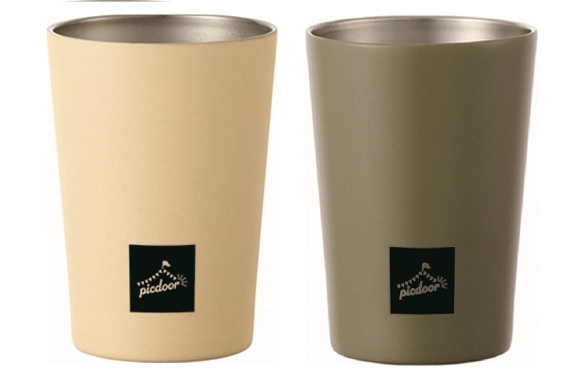 コンビニカップ 保温 保冷 水筒 真空二重コンビニカップ450ml 売り出し ピックドア マート アウトドア