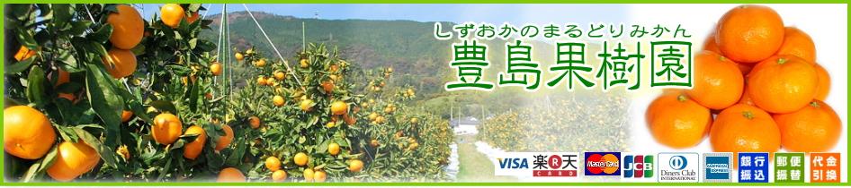 豊島果樹園:青島みかん他多種の柑橘専門店♪静岡・由比の豊島果樹園(豊島農園)です。