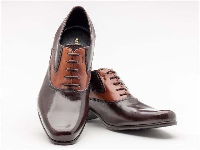 キャサリンハムネットロンドン 靴 本革 ビジネスシューズ プレーントゥ トラッド KATHARINE HAMNETT LONDON 31442 ダークブラウン