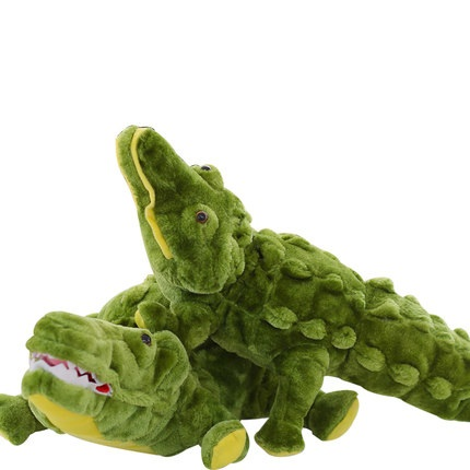 新登場 ふわふわ 大きな ワニ ぬいぐるみ crocodile 緑 サイズ:200cm