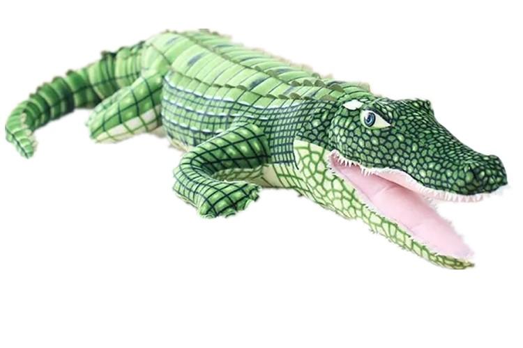 大きな ワニ ぬいぐるみ crocodile 緑 サイズ:190cm