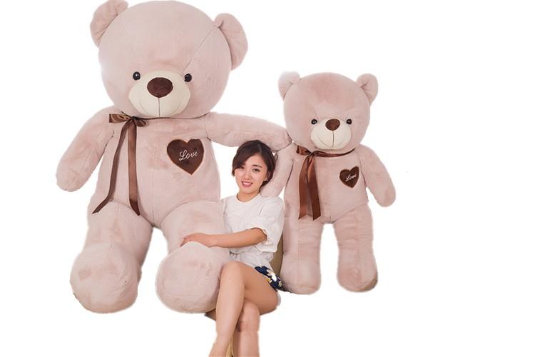 可愛いぬいぐるみ くま テディベア 熊オモッチャ 誕生日お祝いくま 170cm