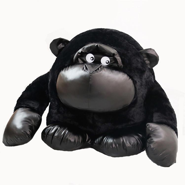 【送料無料】サルぬいぐるみ Animal黒マンキー80センチ