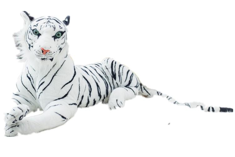 まとめ買い特価 タイガー オリジナル ぬいぐるみ 大きい 美品 虎 特大 トラ ホワイト 110cm インテリア リアル