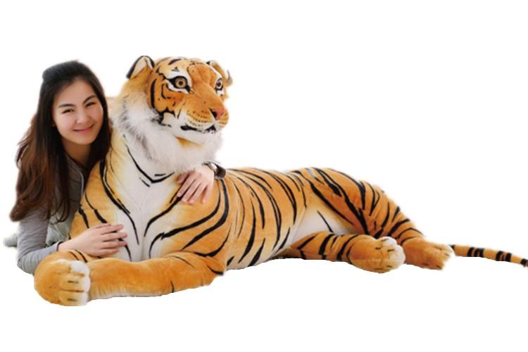 リアル タイガー 虎 ぬいぐるみ 特大 トラ インテリア 110cm