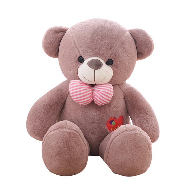 【送料無料】クマ ぬいぐるみ 特大可愛い熊 四色あり 5サイズ選択可能 160センチ