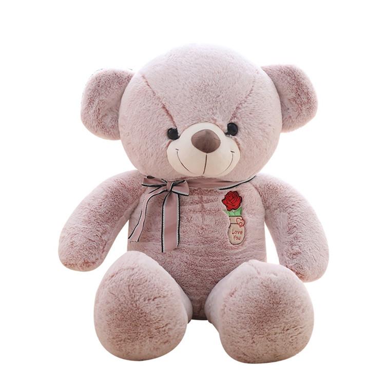 【送料無料】クマ ぬいぐるみ 特大可愛い熊 2色あり 3サイズ選択可能 125センチ