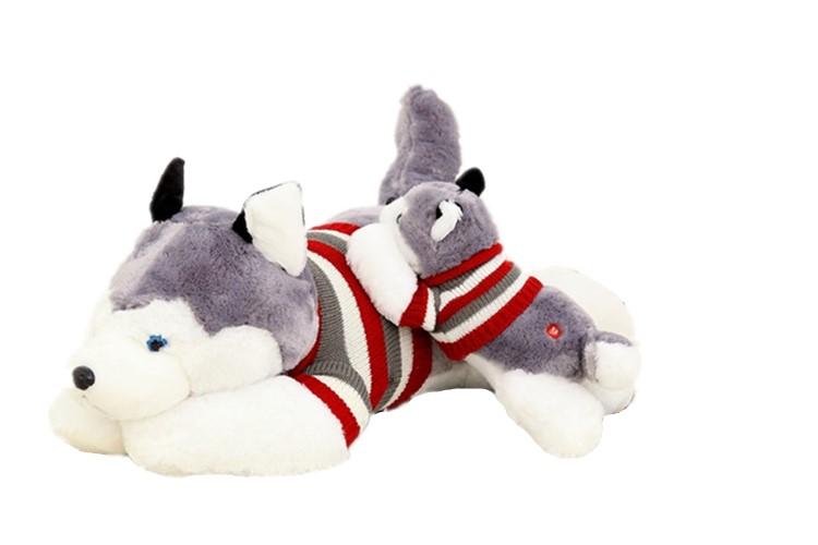 ハスキー 抱き枕 犬 ぬいぐるみ 特大 husky Toys 150センチ