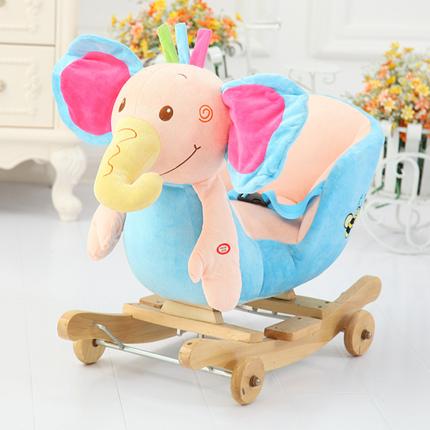 おもちゃ ロッキング ロッキングホース ぬいぐるみ ぞう 子供用 乗り物 おもちゃ 玩具 子供部屋 かわいい キッズルーム 幼稚園 保育園
