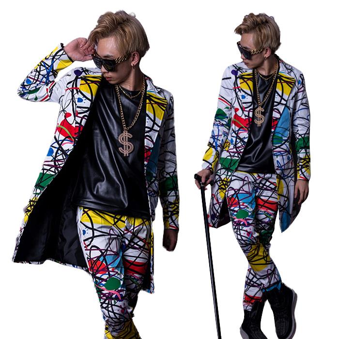 50179305fcb9 Direction clothes dance wear star social dancing HIPHOP casual style dance  clothes hip-hop men ...