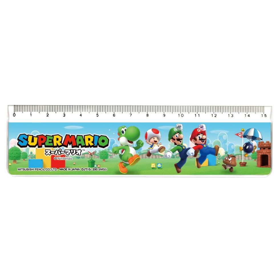 開催中 直定規 スーパーマリオ 15cm 高い素材