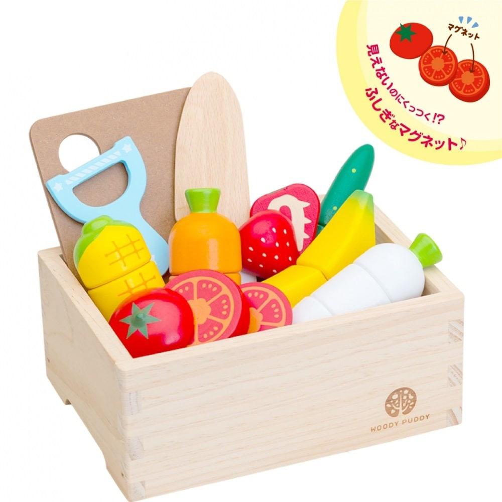 トイザらス限定 5☆大好評 はじめてのおままごと メーカー在庫限り品 サラダ フルーツたっぷりセット
