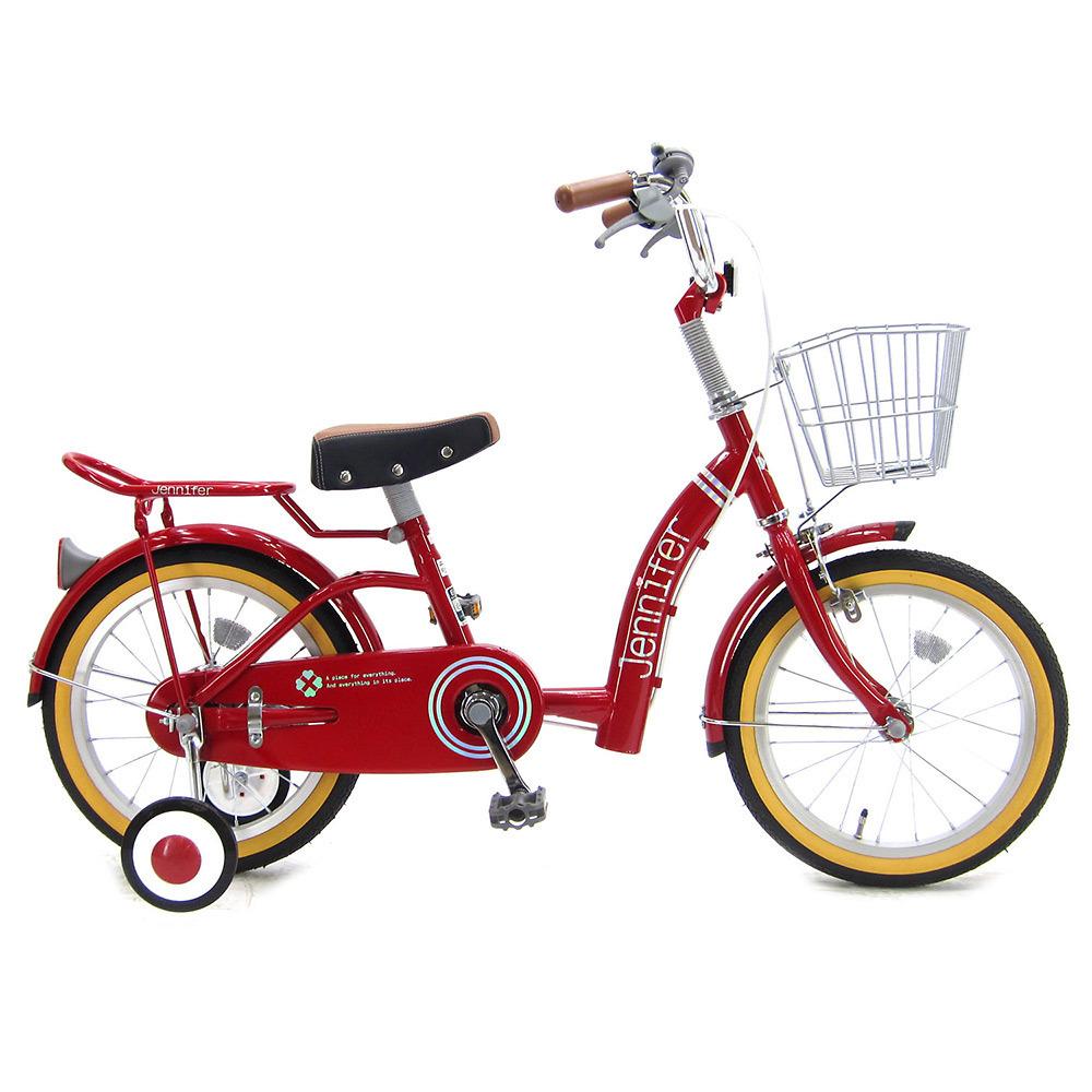 16インチ 子供用自転車 ジェニファー(レッド)【女の子向け】【オンライン限定】