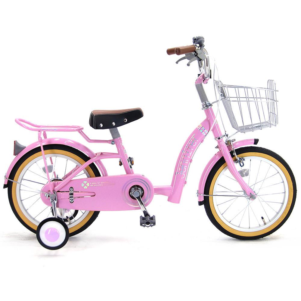 16インチ 子供用自転車 ジェニファー(ピンク)【女の子向け】【オンライン限定】