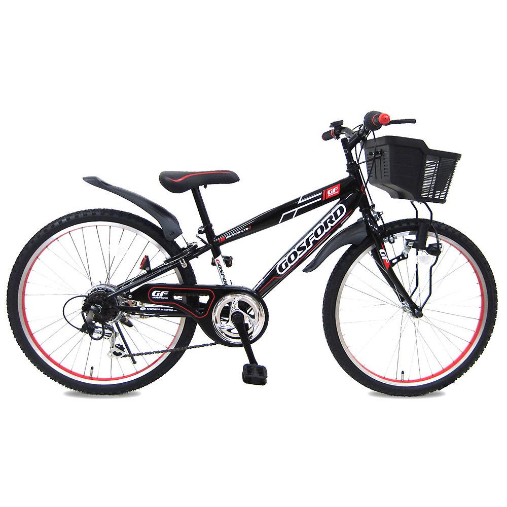 22インチ 子供用自転車 CTBゴスフォード(ブラック/レッド)【オンライン限定】【クリアランス】【送料無料】