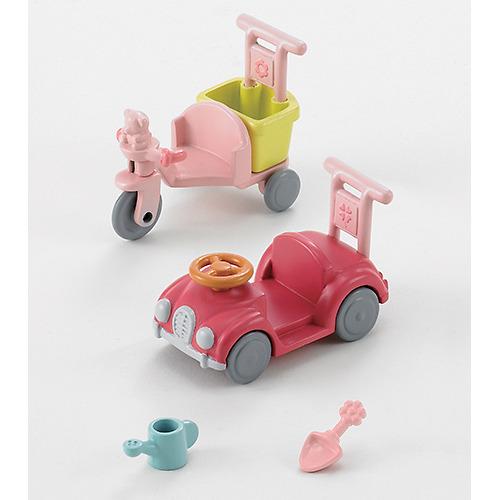 使い勝手の良い 送料無料/新品 シルバニアファミリー 三輪車 くるまセット