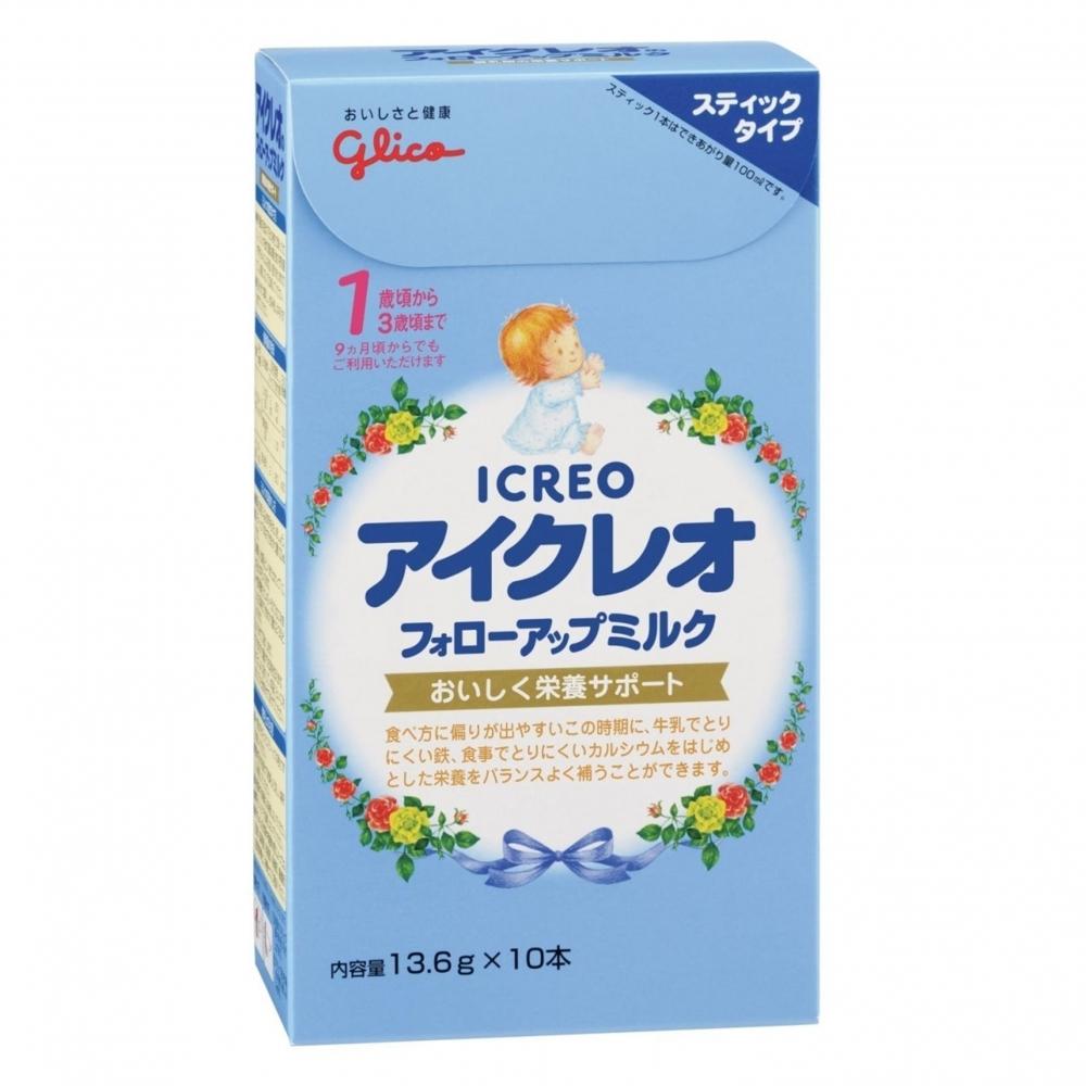 全 粉ミルク 超特価SALE開催 アイクレオ 13.6g×10本 休み アイクレオのフォローアップミルク