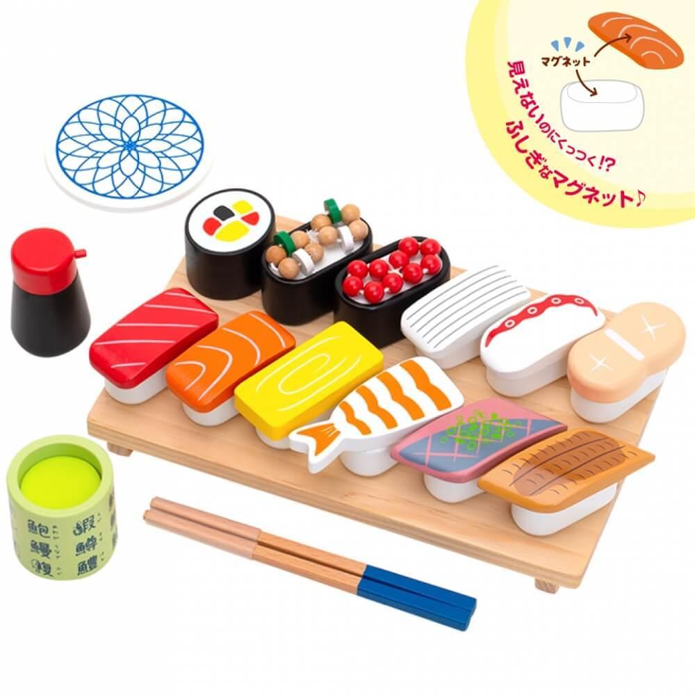 お買い得 日本最大級の品揃え はじめてのおままごと 特上おすしセット