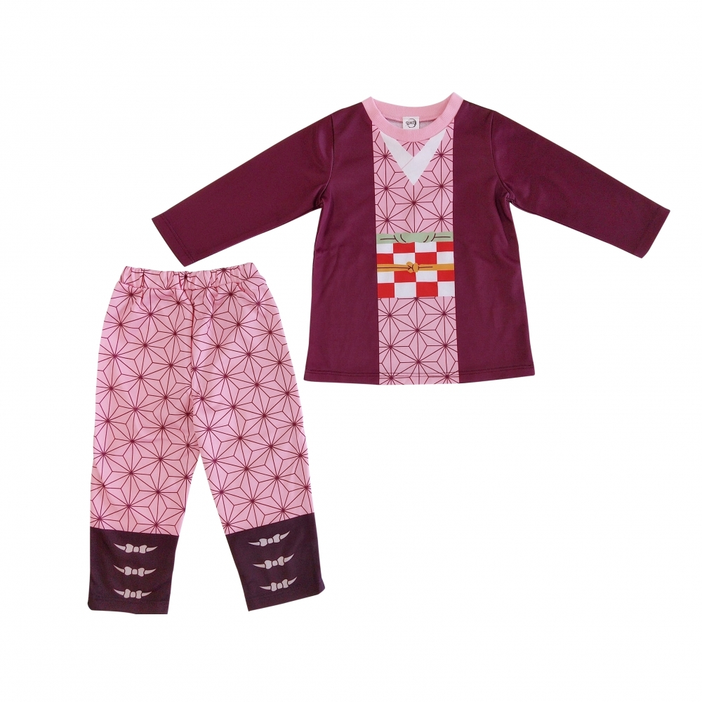 受賞店 2020新作 鬼滅の刃 なりきりスーツ ピンク×95cm
