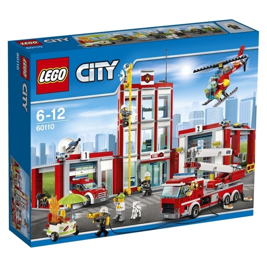 レゴ シティ 60110 消防署【送料無料】