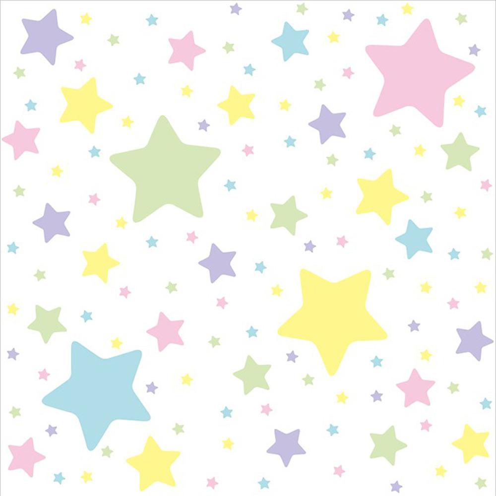トイザらスオリジナル 新品 送料無料 クッションマット2畳 星柄パステルカラー 買取