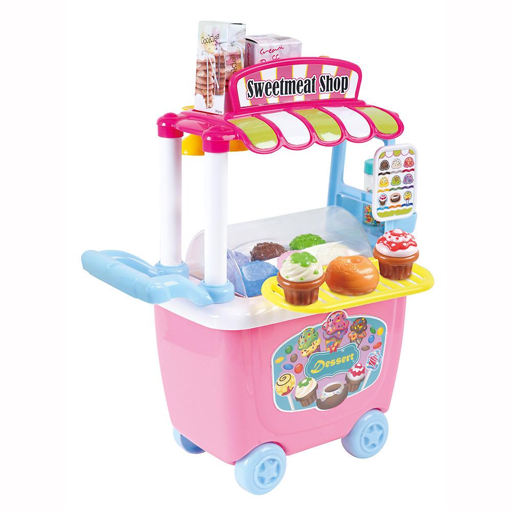 トイザらス 激安通販ショッピング クリアランスsale!期間限定! ジャストライクホーム わくわく ワゴン アイスクリーム