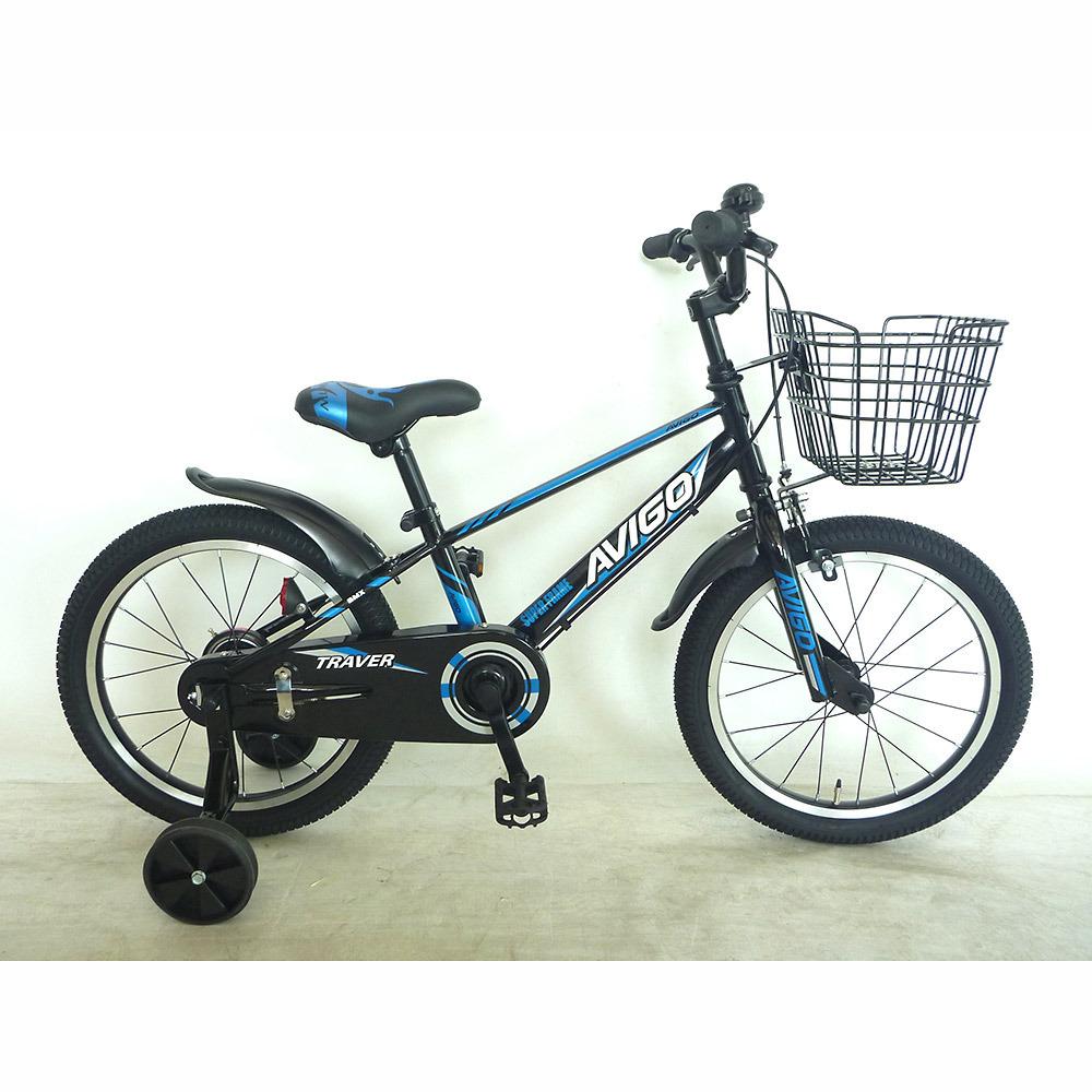トイザらス トイザらス AVIGO 18インチ 子供用自転車 子供用自転車 トレイバー(ブラック AVIGO/ブルー), 湖西市:d27ef9e4 --- cognitivebots.ai