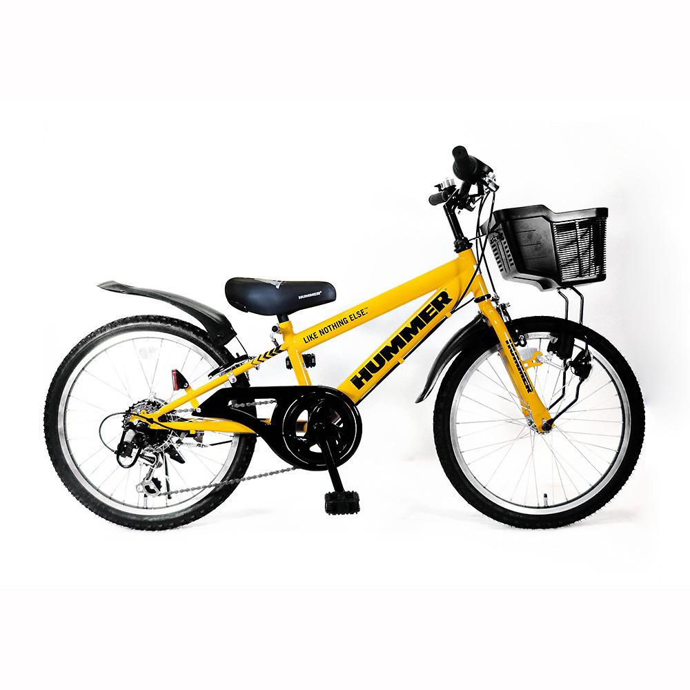トイザらス限定 22インチ 子供用自転車 ハマー ジュニアCTB226-TZ(イエロー)