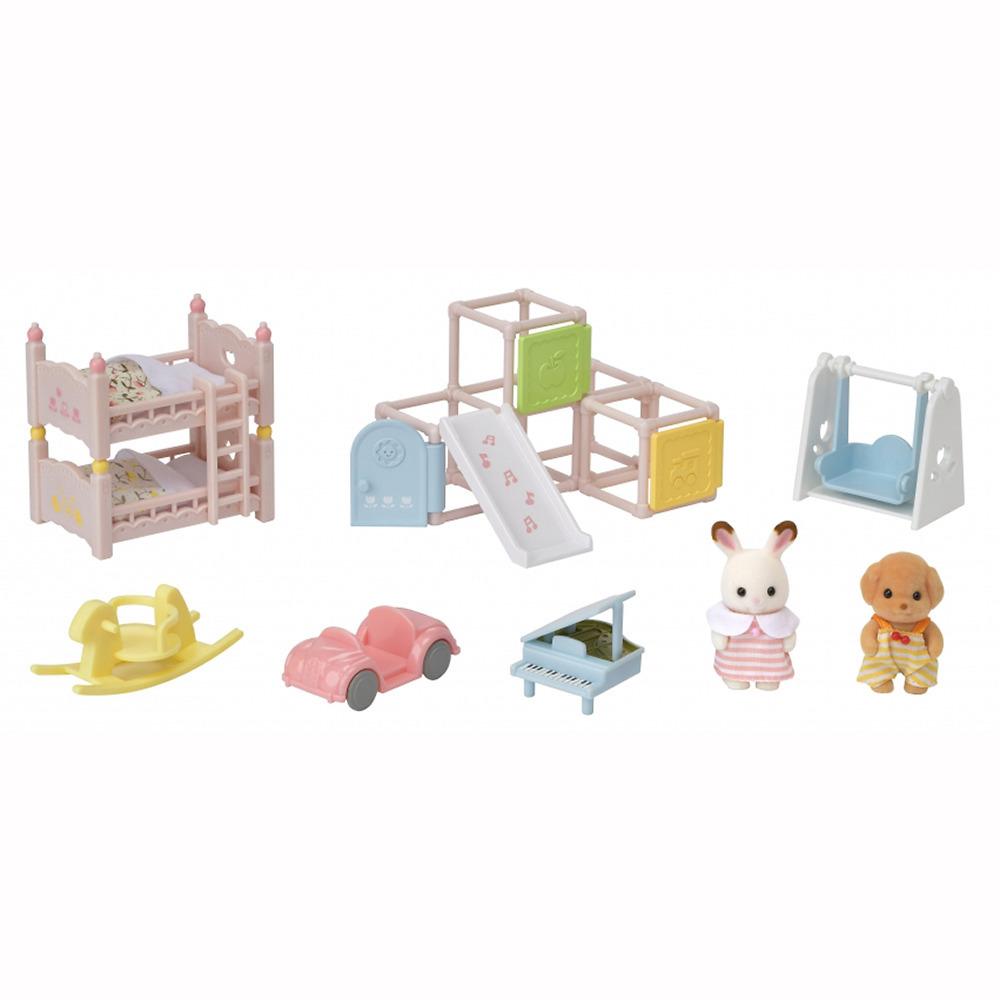 シルバニアファミリー 新作 人気 にこにこ赤ちゃん家具セット 高価値