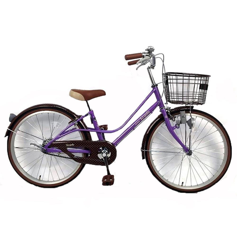 トイザらス AVIGO 22インチ 子供用自転車 レガーロ(パープル)