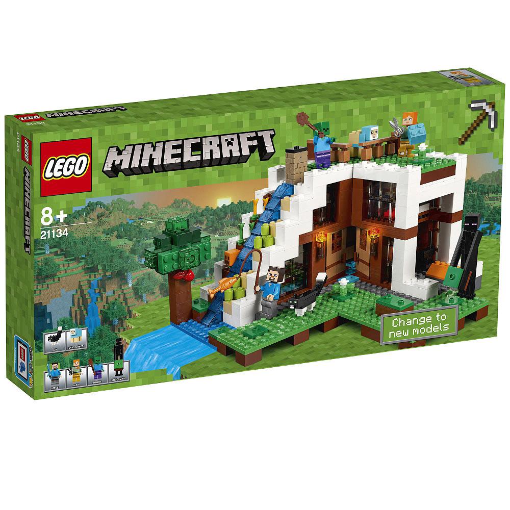 レゴ マインクラフト 21134 滝のふもと【送料無料】