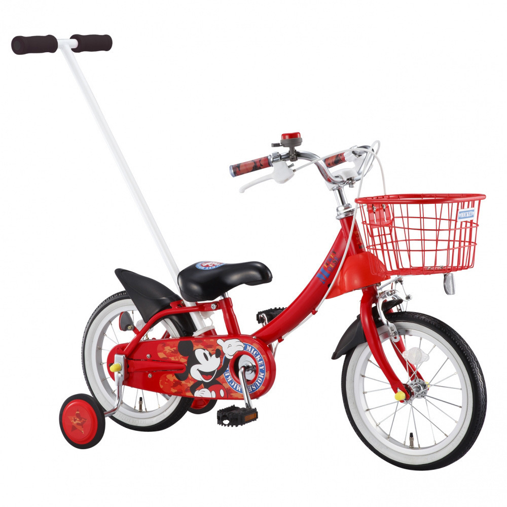 【クリアランス】14インチ 子供用自転車 カジとり カジー ミッキーマウス