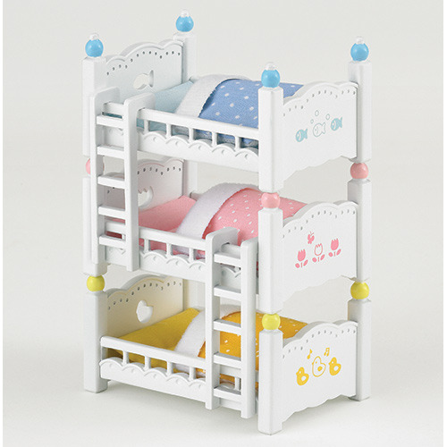 シルバニアファミリー タイムセール 赤ちゃん三段ベッド 豪華な