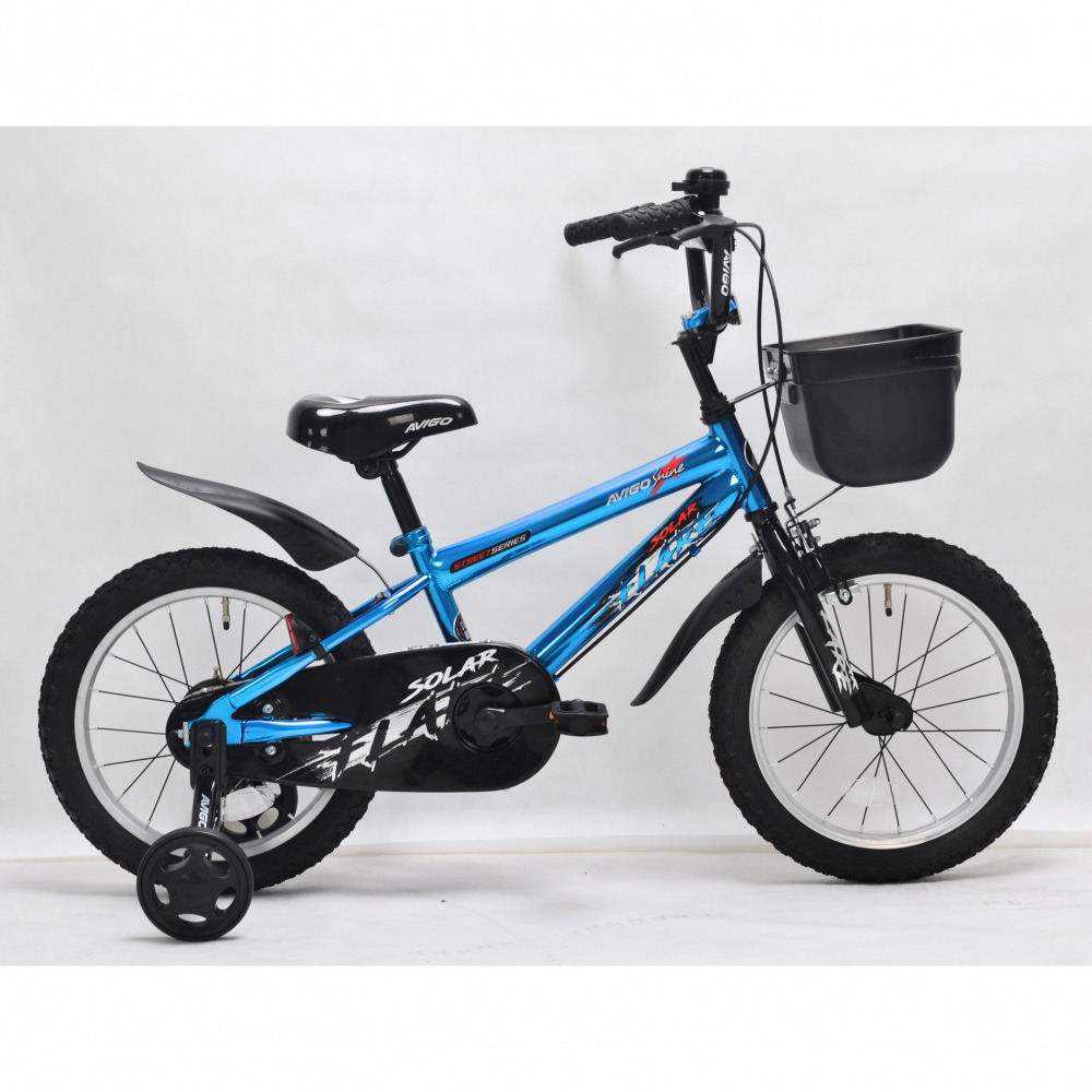 トイザらス AVIGO 16インチ 子供用自転車 シャインブルー