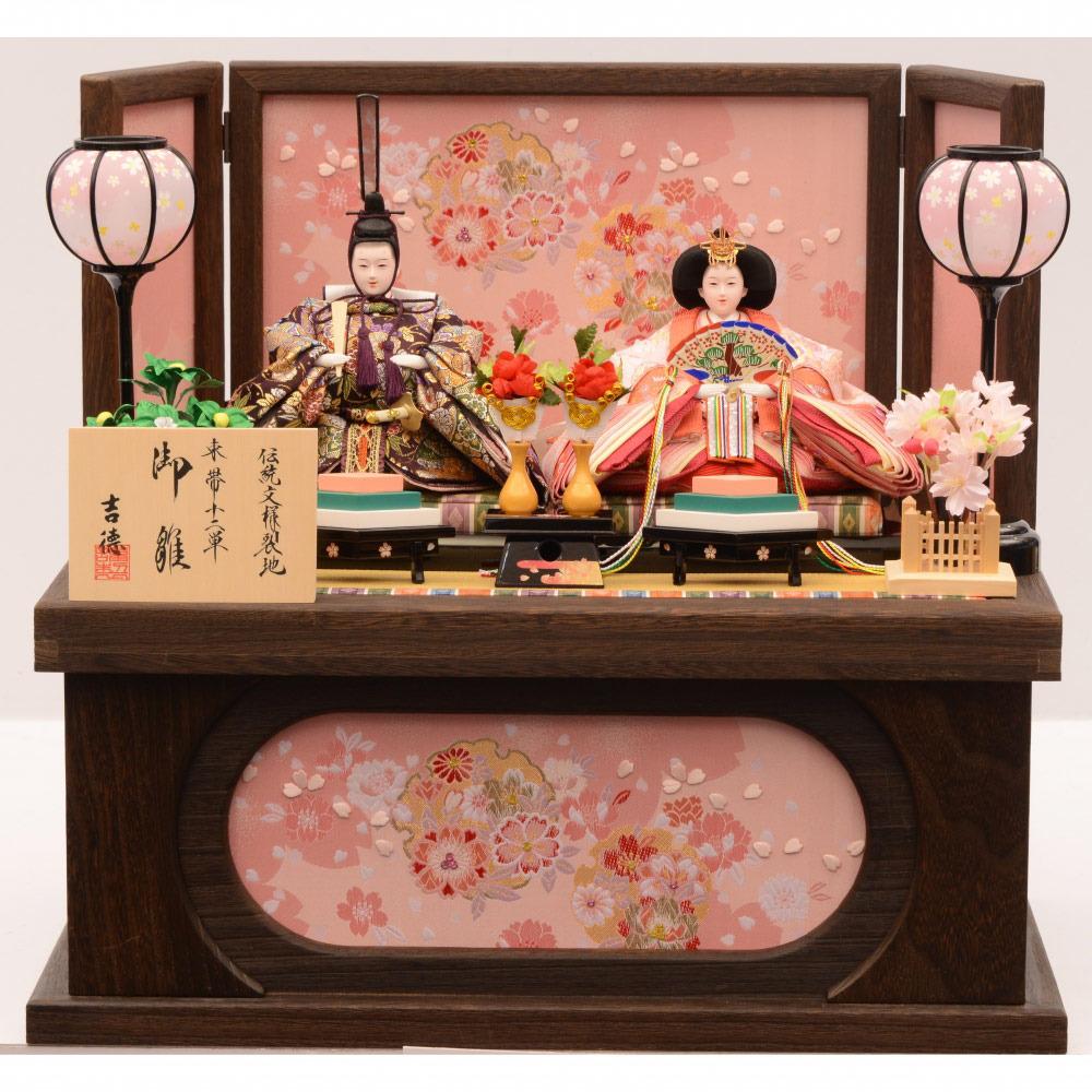 【雛人形】ベビーザらス限定 収納親王飾り「春歌桜焼桐」【送料無料】